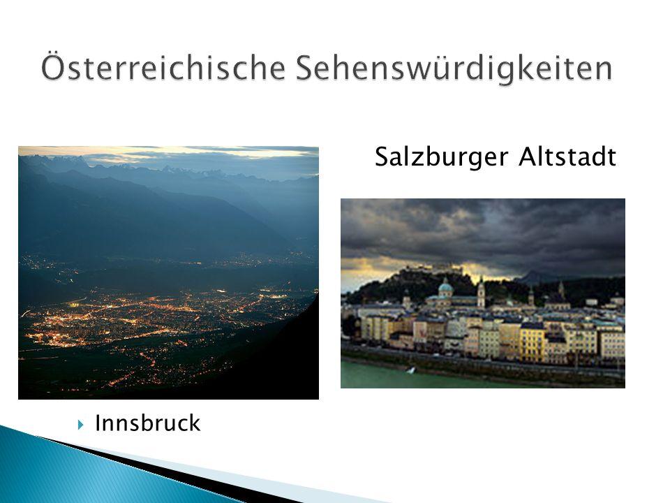 Innsbruck Salzburger Altstadt
