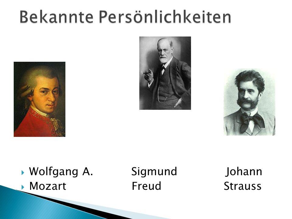 Wolfgang A. Sigmund Johann Mozart Freud Strauss