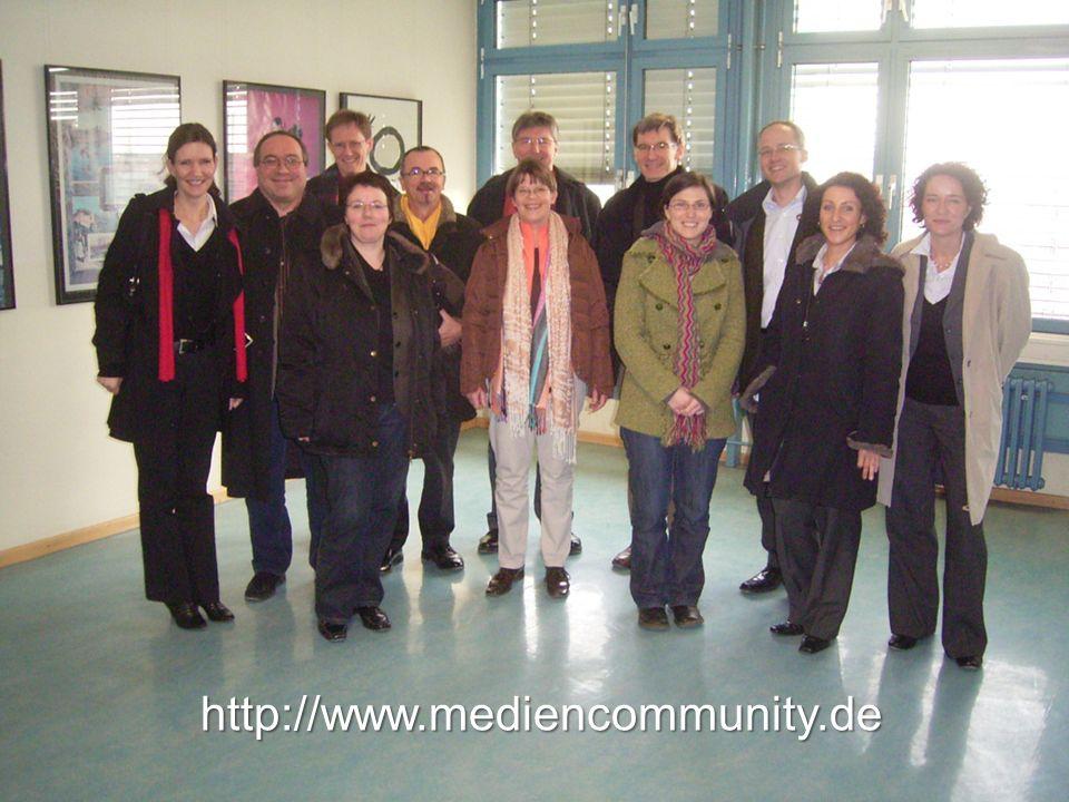 5. Ansprechpartner, Kontakt, Homepage http://www.mediencommunity.de