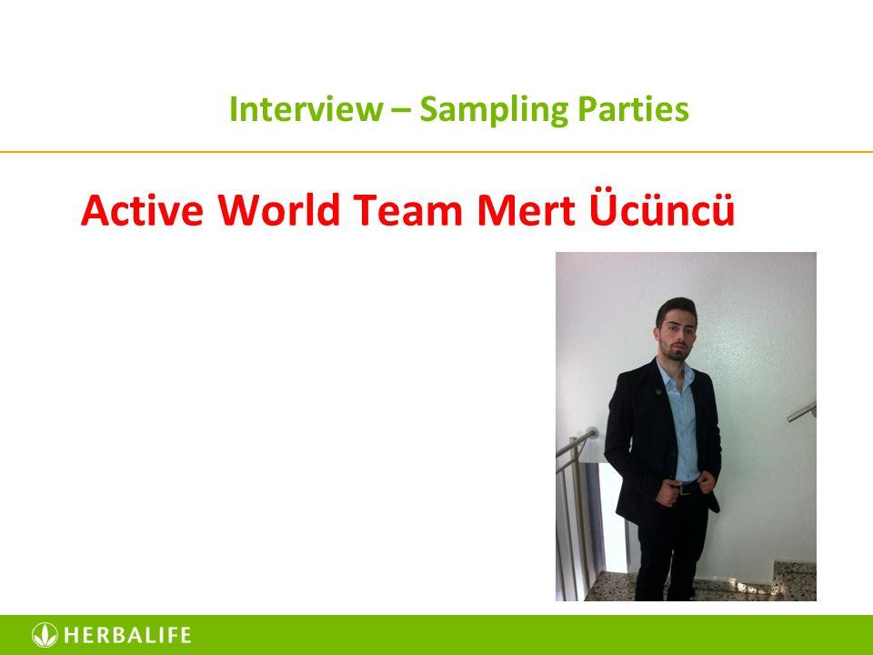 Interview – Sampling Parties Active World Team Mert Ücüncü