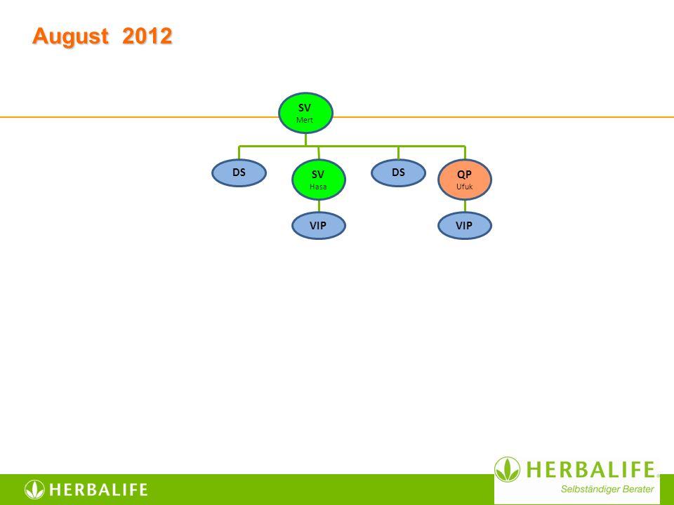 August 2012 DS VIP SV Mert VIP SV Hasa QP Ufuk