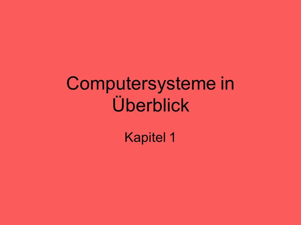 Betriebssysteme Verwendet einen oder mehrere Prozessoren und die übrigen Hardwareressourcen, um Computernutzern Dienste bereitzustellen.