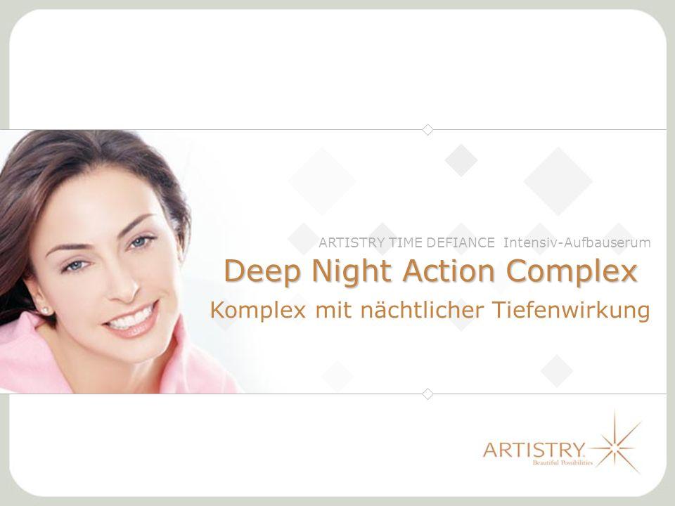 Deep Night Action Complex Komplex mit nächtlicher Tiefenwirkung ARTISTRY TIME DEFIANCE Intensiv-Aufbauserum