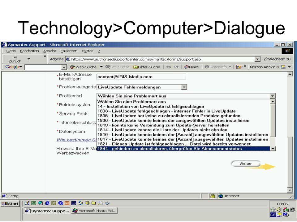 32 Technology>Computer>Dialogue