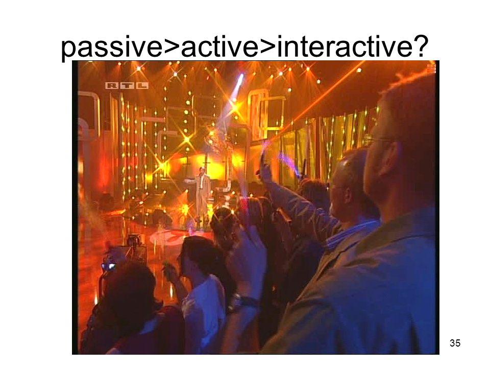 35 passive>active>interactive?