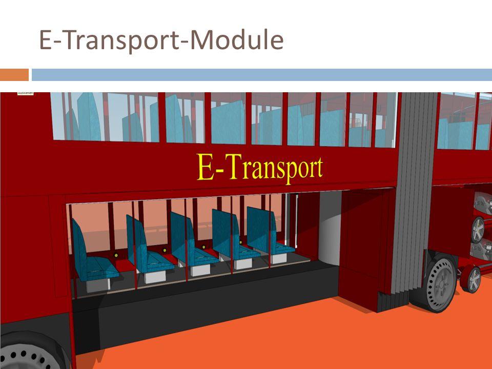 E-Transport-Ausladevorgang