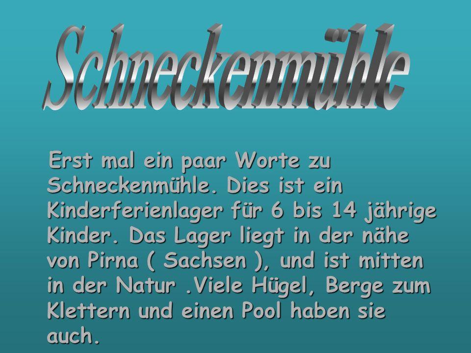 Es gab vor ein paar Jahre eine Überflutung in Sachsen davon war auch das Kinderferienlager Schneckenmühle sehr in Mitleidenschaft gezogen worden.