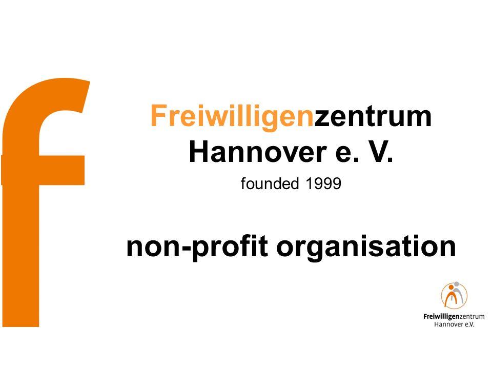 Freiwilligenzentrum Hannover e. V. founded 1999 non-profit organisation