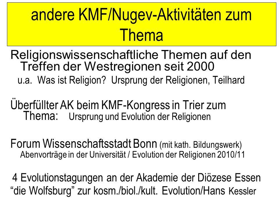 Naturwissenschaft und Theologie im Gespräch 1.Die Evolution des Kosmos als Schöpfung verstehen.