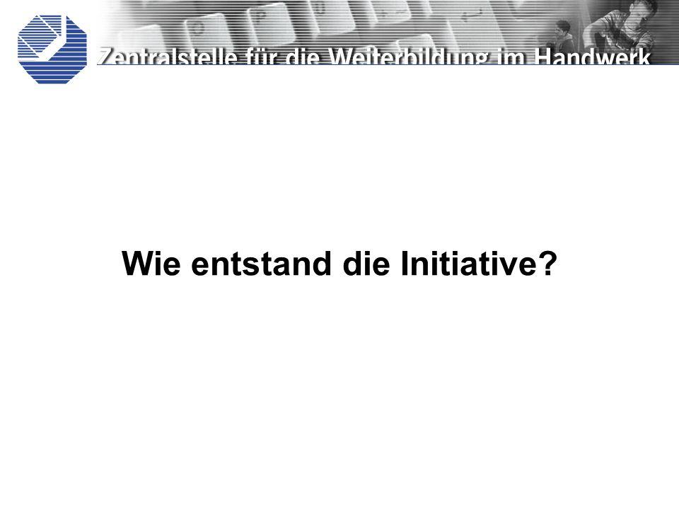Wie entstand die Initiative?