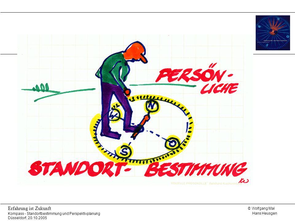 © Wolfgang Mai Hans Heusgen Erfahrung ist Zukunft Kompass - Standortbestimmung und Perspektivplanung Düsseldorf, 20.10.2005