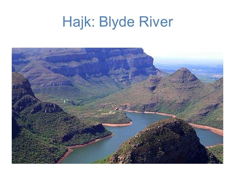 Hajk: Blyde River