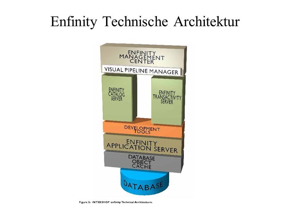 Enfinity Technische Architektur