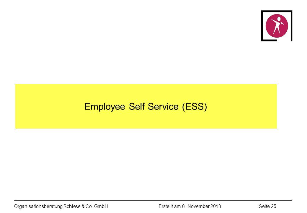 Organisationsberatung Schlese & Co.GmbHSeite 25 Erstellt am 8.