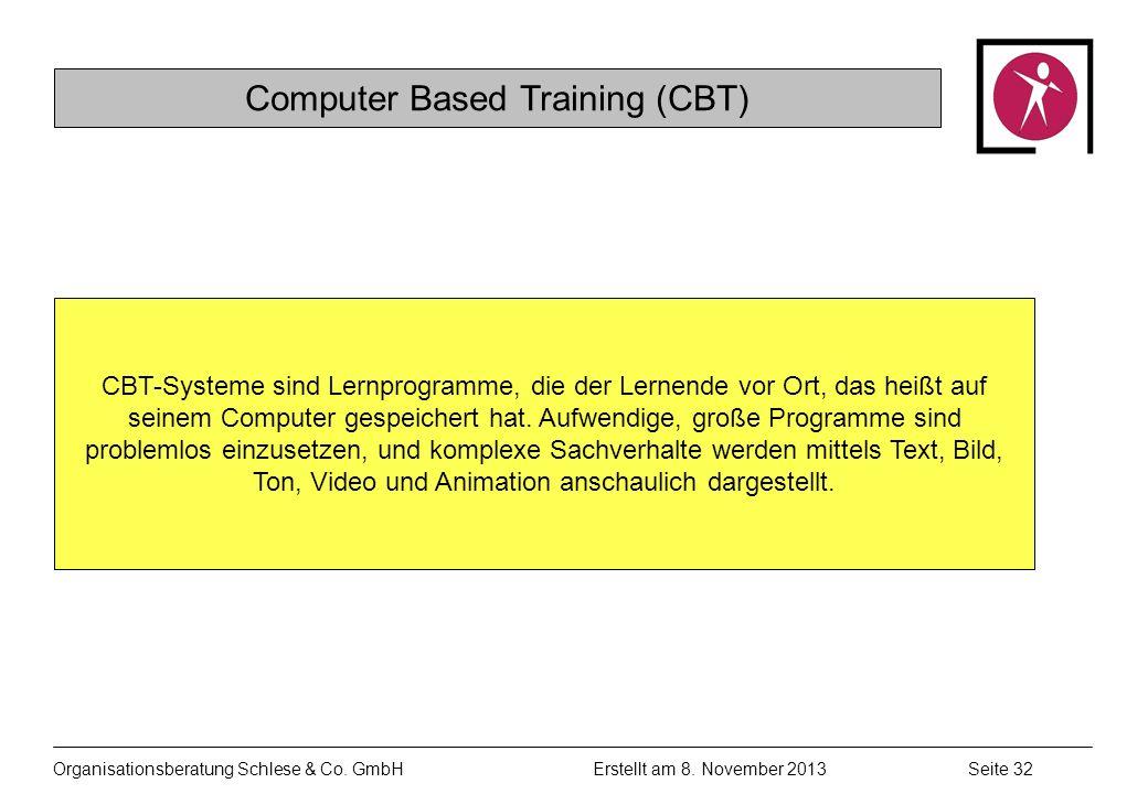 Organisationsberatung Schlese & Co.GmbHSeite 32 Erstellt am 8.