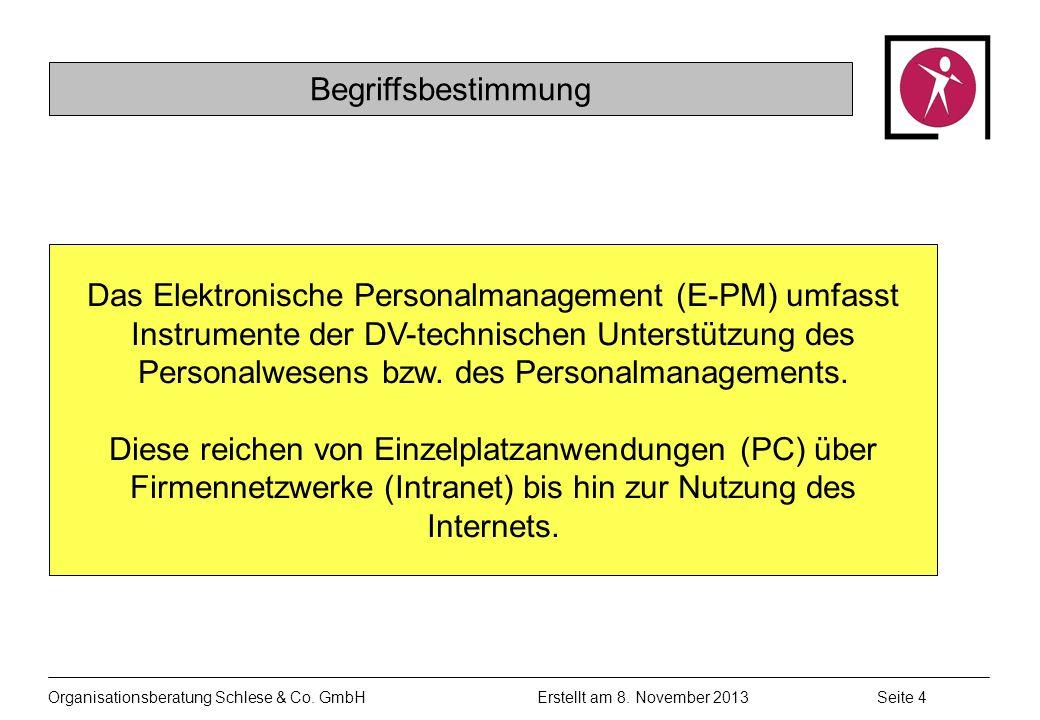 Organisationsberatung Schlese & Co.GmbHSeite 4 Erstellt am 8.