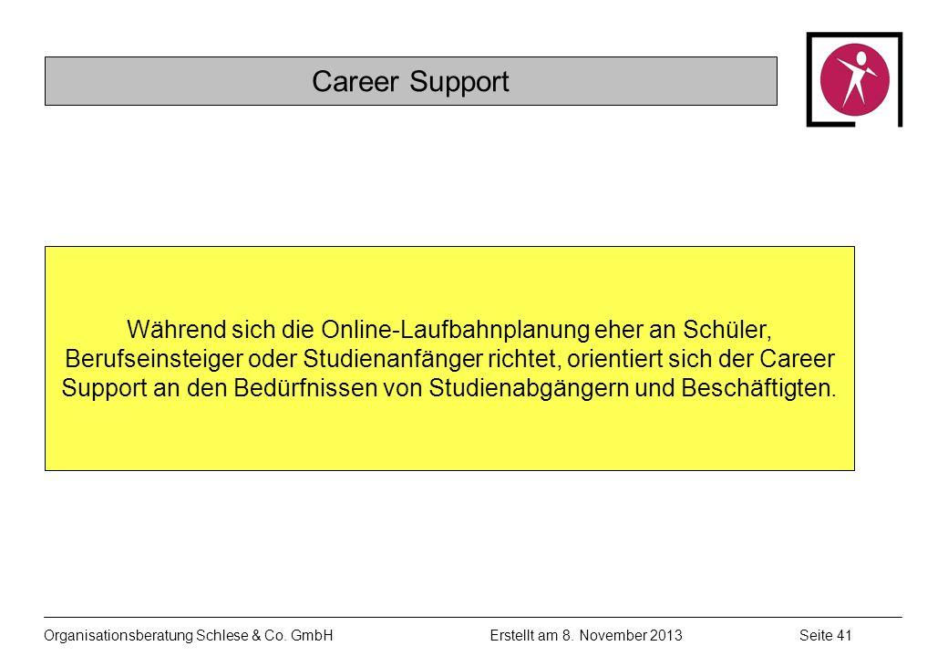 Organisationsberatung Schlese & Co.GmbHSeite 41 Erstellt am 8.