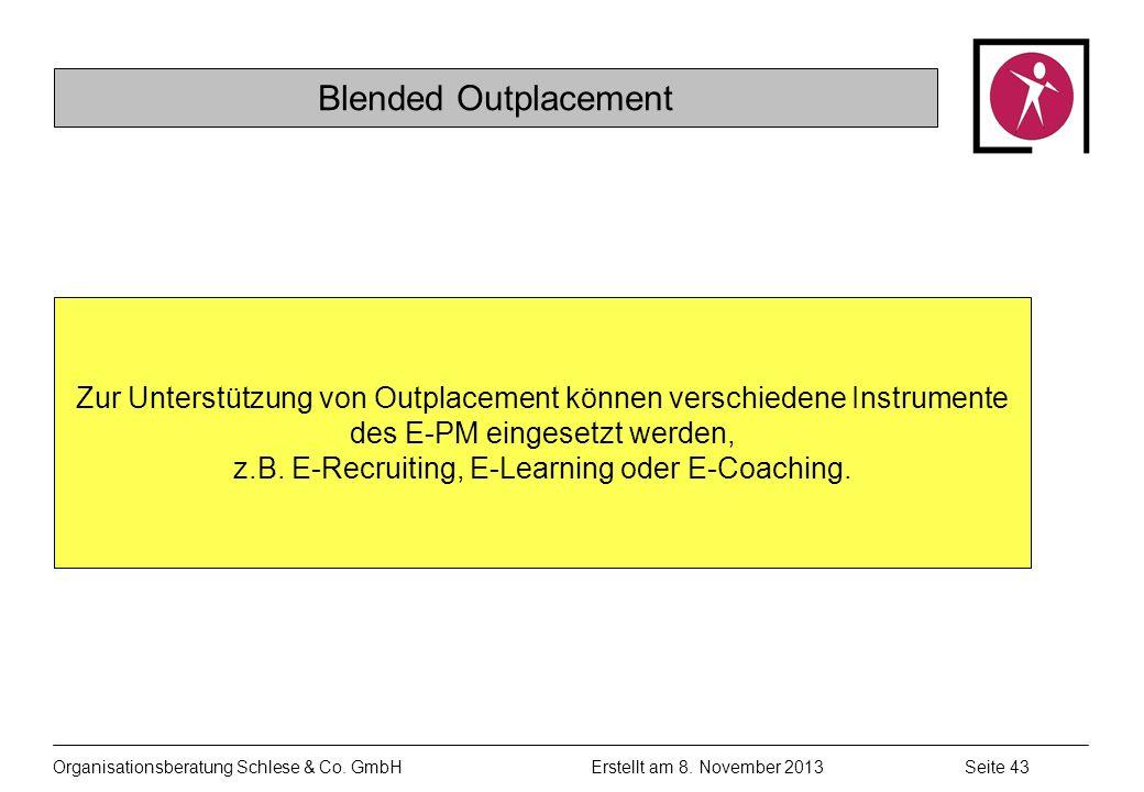 Organisationsberatung Schlese & Co.GmbHSeite 43 Erstellt am 8.