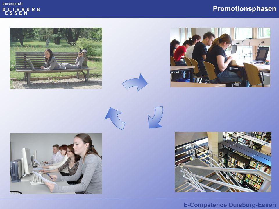 E-Competence Duisburg-Essen Promotionsphasen