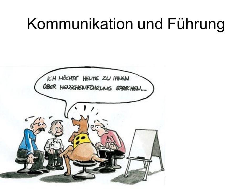 Kommunikation und Führung