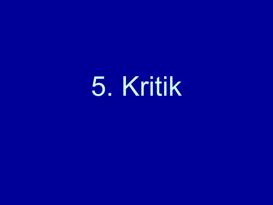 5. Kritik