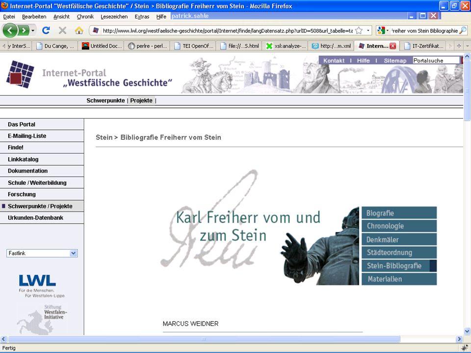 Institut für Dokumentologie und Editorik Spring School 2. März bis 5. März 2010 Datengewinnung-, anreicherung, -verarbeitungFolie 24