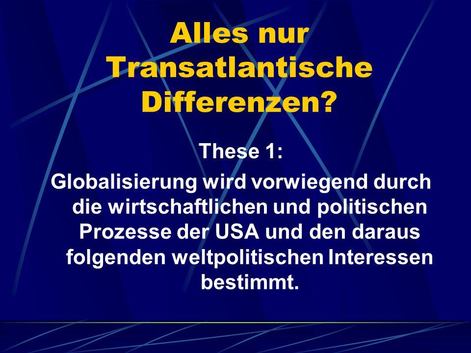 Transnationale Kapitalismus: These 2: Es existiert ein quasi symbiotisches Verhältnis von Kapitalismus und politisch-militärischer Hegemonialmacht, in der es nicht um Verteidigungslogik geht, sondern um die Logik imperialer Interventionsfähigkeit.