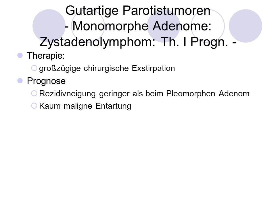 Gutartige Parotistumoren - Hämangiome: Kurzer Überblick - Häm… was.