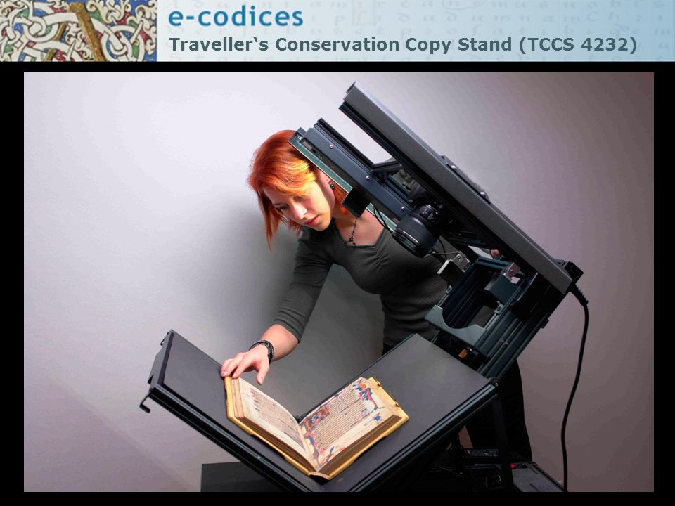 Travellers Conservation Copy Stand (TCCS 4232)