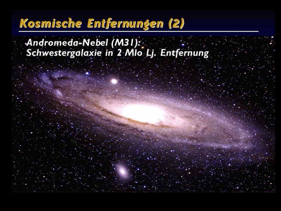 Kosmische Entfernungen 1 0.1 Mio Lj