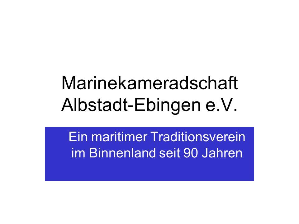 Marinekameradschaft Albstadt-Ebingen e.V.