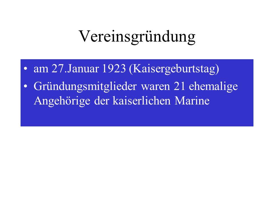 am 27.Januar 1923 (Kaisergeburtstag)