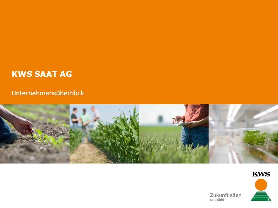 KWS SAAT AG Unternehmensüberblick