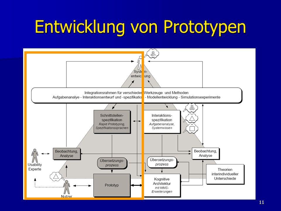 11 Entwicklung von Prototypen