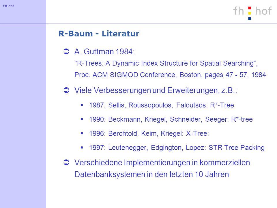 FH-Hof R-Baum - Literatur A. Guttman 1984: