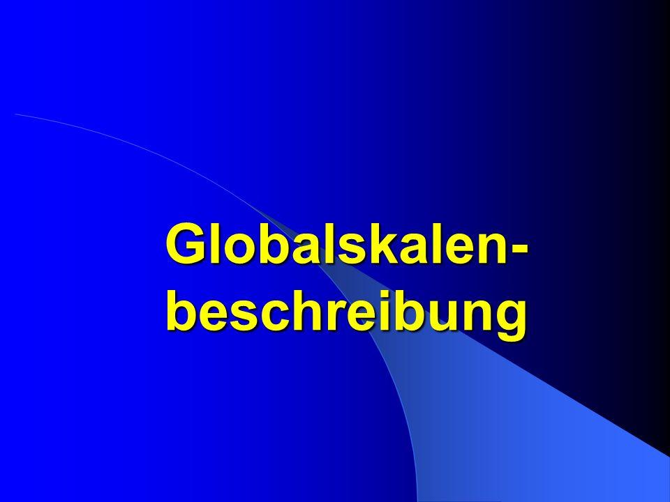 Globalskalen- beschreibung