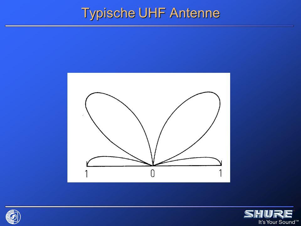 Typische UHF Antenne