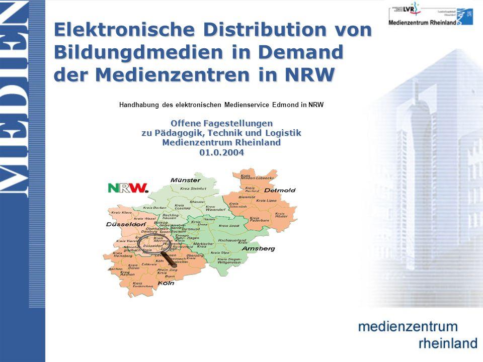 Bedienanleitung f ü r Anwender: 1.Schritt: Eingabe der Web-Adresse: http://www.edmond-nrw.de/ 2.
