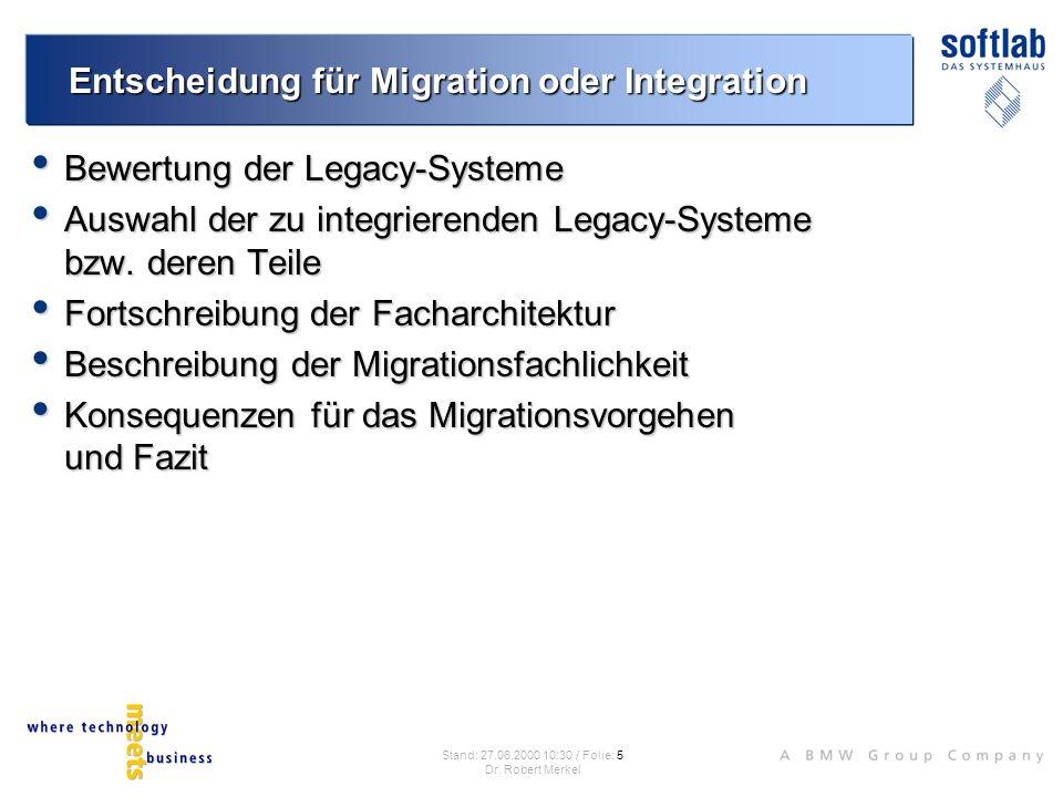 Warum Migration vermeiden.