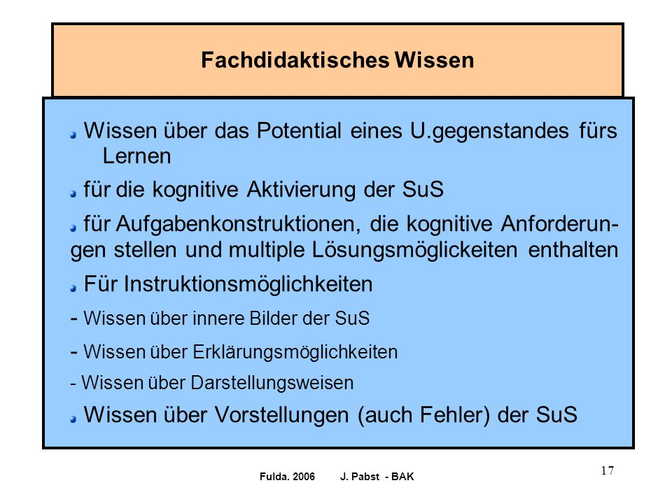 Fulda. 2006 J.