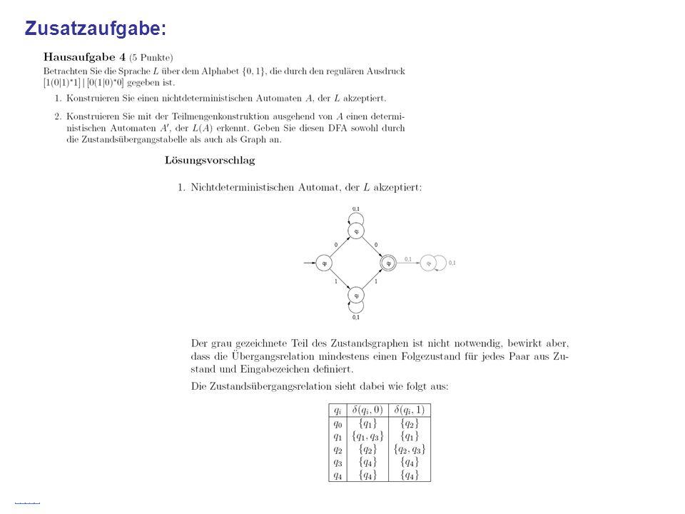 Stefan Schmid @ TU München, 200836 Zusatzaufgabe: