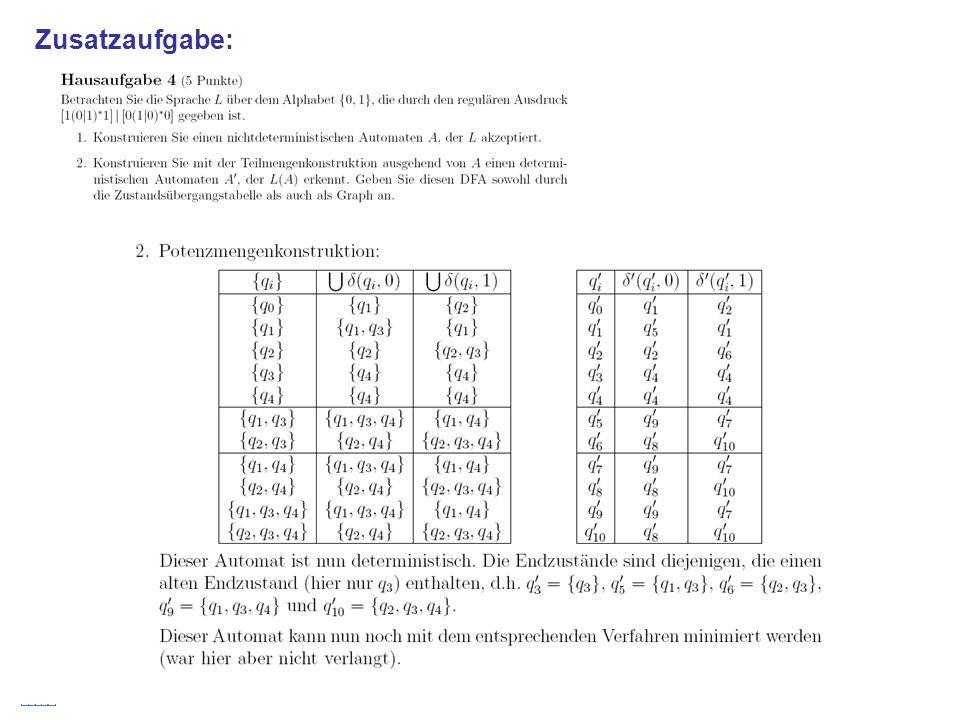 Stefan Schmid @ TU München, 200837 Zusatzaufgabe: