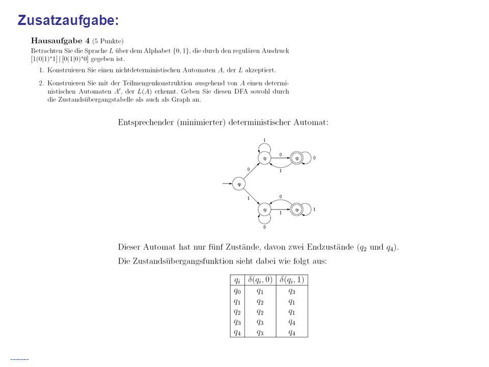 Stefan Schmid @ TU München, 200838 Zusatzaufgabe:
