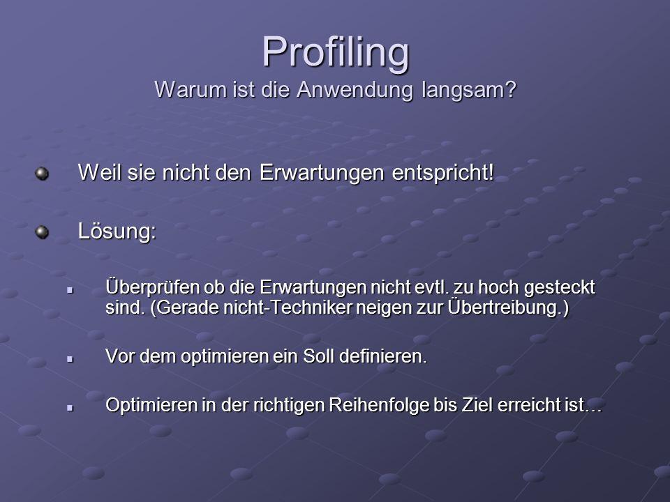 Profiling Tools JConsole