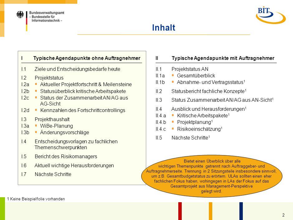 1 Einsatzbedingungen des Dokuments im Rahmen des S-O-S-Ansatzes Name und Version des Dokuments 6.3-1_(U-)LA-Vorlage_v1.0.ppt / 02.10.2009 1 Projektman