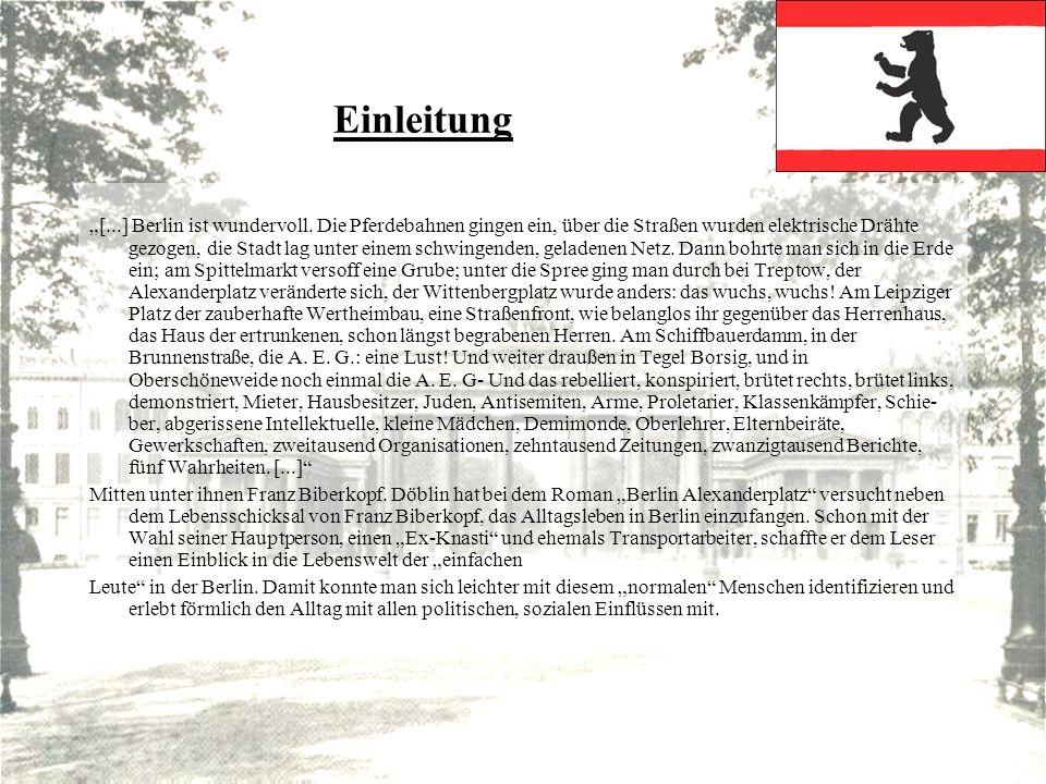 Gedichte Berlin II.Der hohe Straßenrand, auf dem wir lagen, War weiß von Staub.