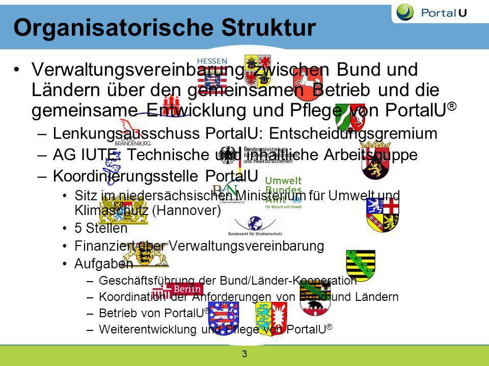 3 Organisatorische Struktur Verwaltungsvereinbarung zwischen Bund und Ländern über den gemeinsamen Betrieb und die gemeinsame Entwicklung und Pflege v
