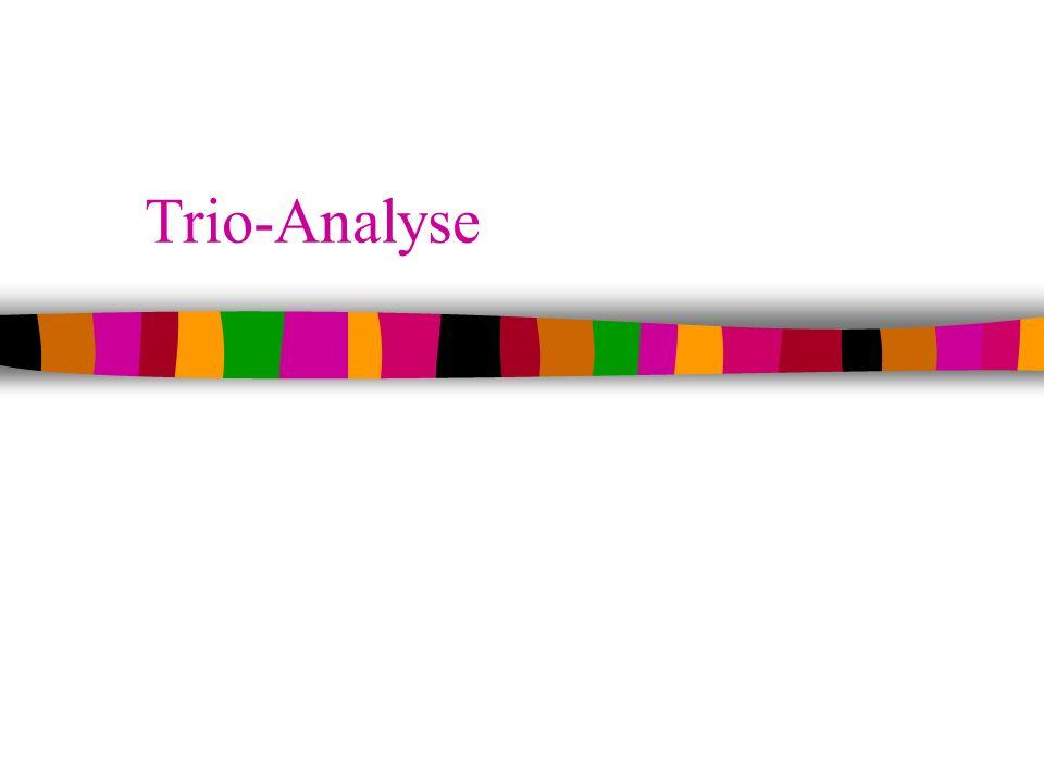 Trio-Analyse