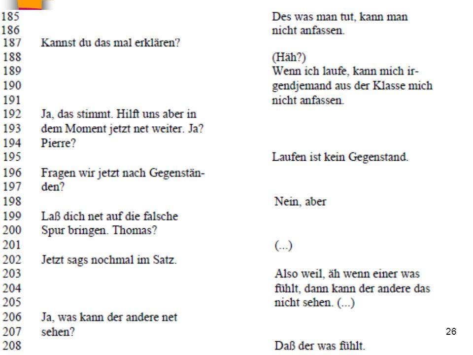 HS Unterrichtsgespräche 02.02.201026