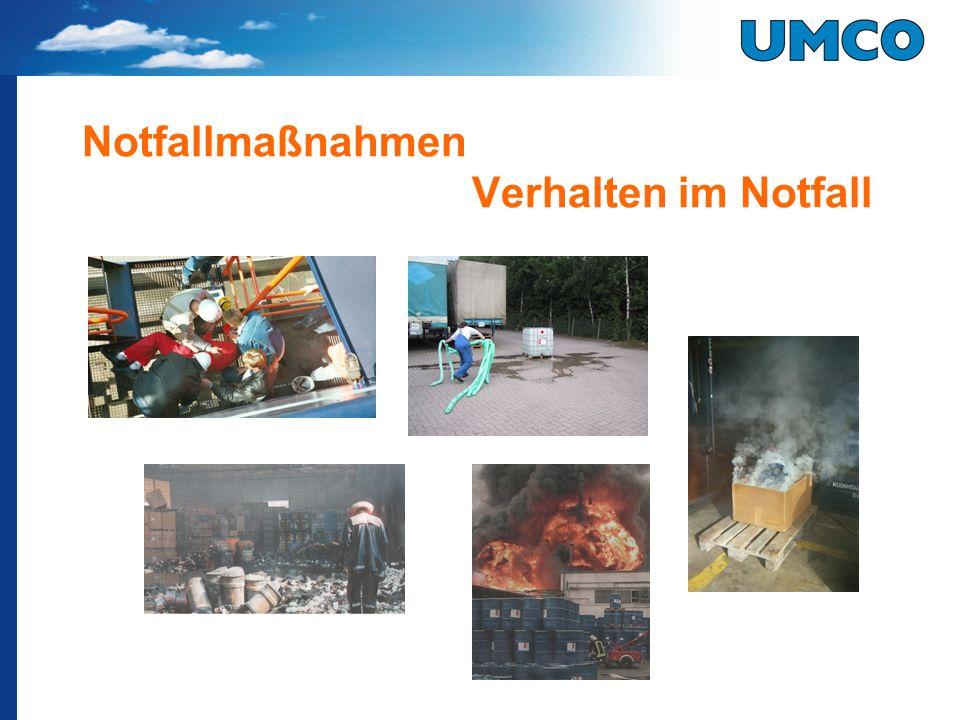 Typische Situationen 3 Leckage aus LKW (Gefahrgut Kl.